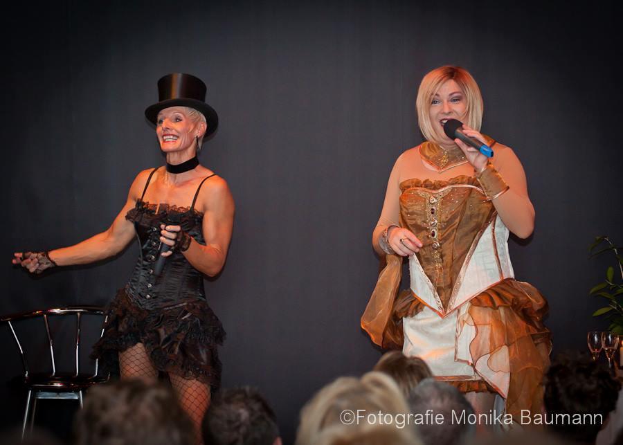Mo Weirich und Angelica Glitzer