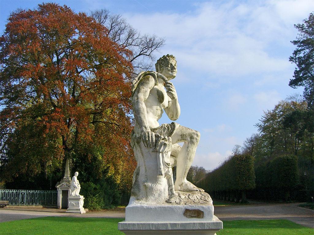 Pan im Schlosspark