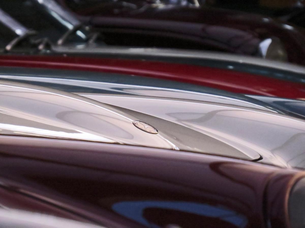 Ein Wagen ist schöner als der andere - Classic Remise in Düsseldorf