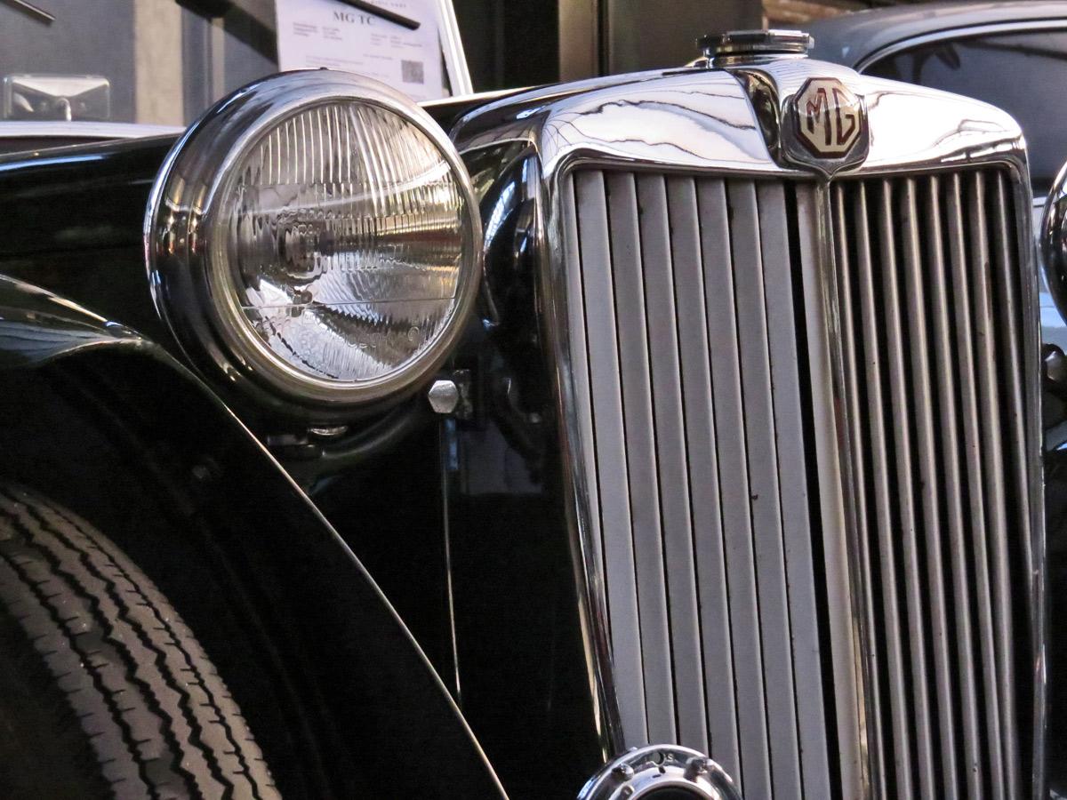 Ein alter MG - richtig schön