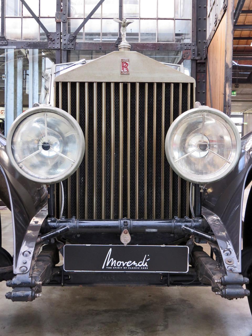 Dieser Rolls-Royce ist straßentauglich und steht in der Classic Remise zum Verkauf