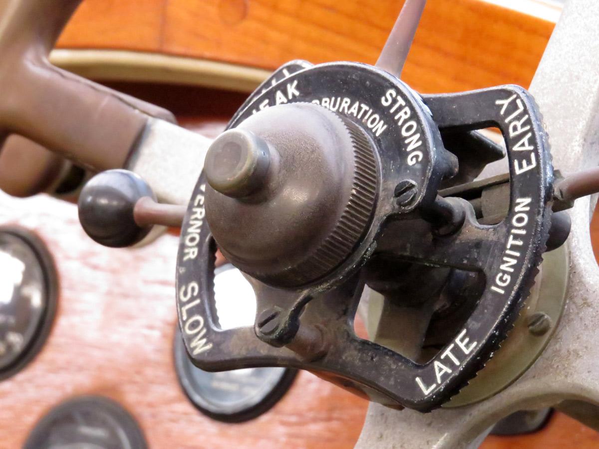 Lenkrad anno 1929 - Rolls-Royce