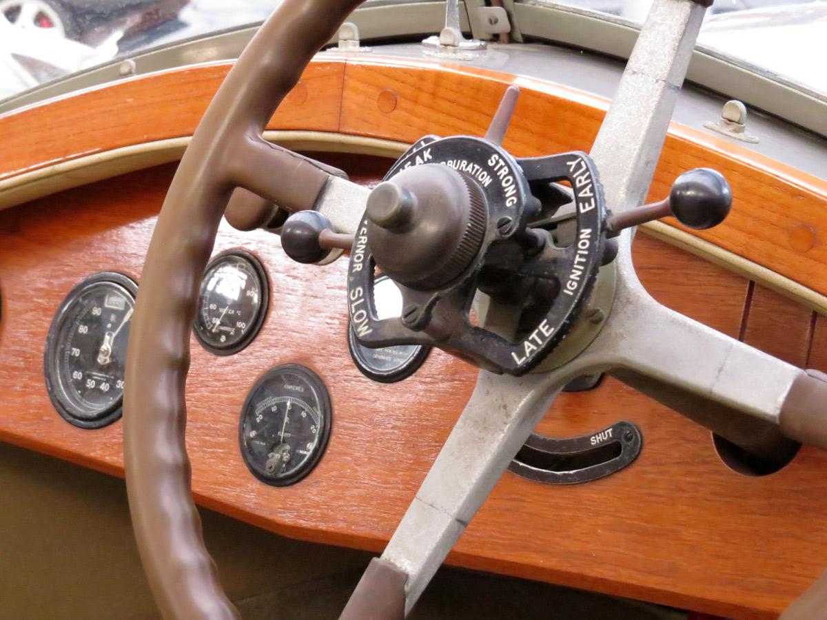 Armaturen anno 1929 - Rolls-Royce in der Classic Remise in Düsseldorf