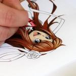 Zauberhaftes aus Buntstiften und Textmarkern