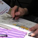 Zeichnen, zeichnen, zeichnen :)
