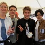 Ich, Thomas, Tristan und Reika