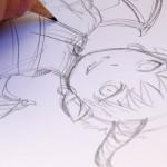 Manga Skizze von Mikiko Ponczeck