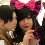 Selfies mit Reika am Stand von Amazing Japan