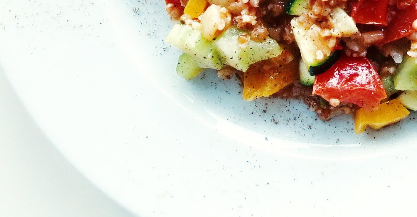 Bulgur Salat - warm