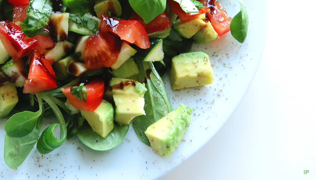 Feldsalat, Tomate, Avocado & Co.