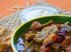 Chorizo, Bohnen & Tomateneintopf